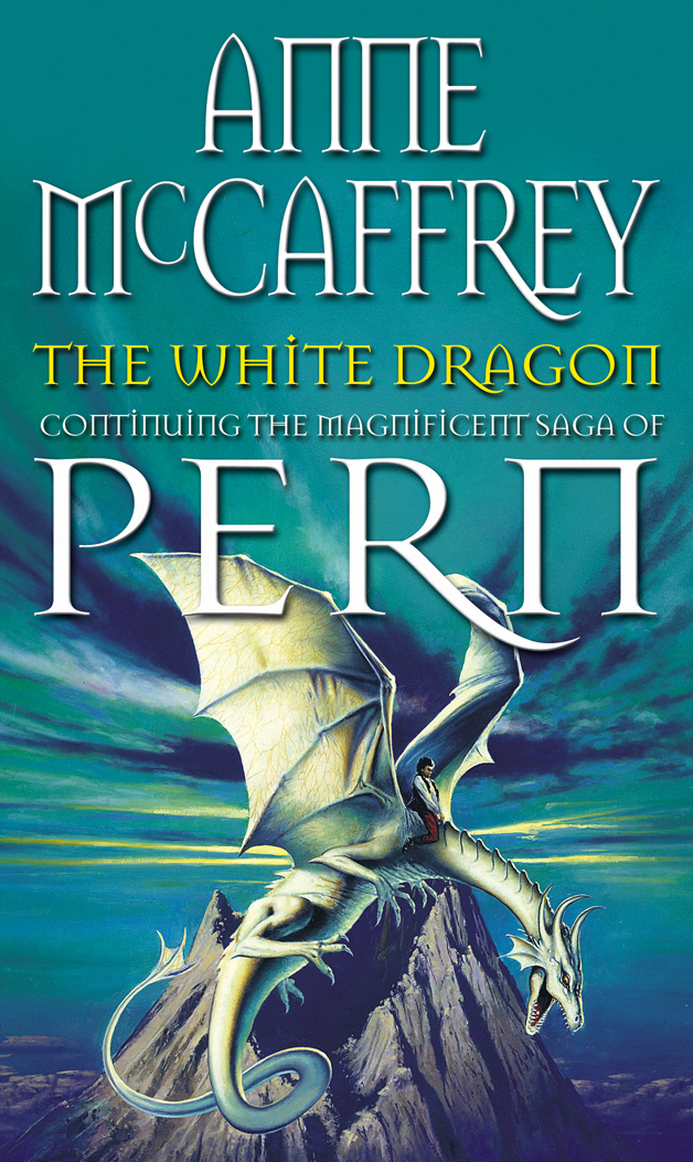 The White Dragon the dragonriders of pern