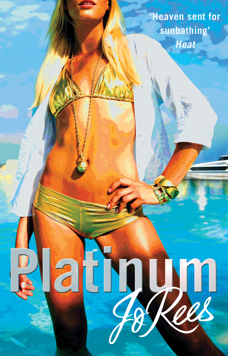 Platinum the little old lady in saint tropez