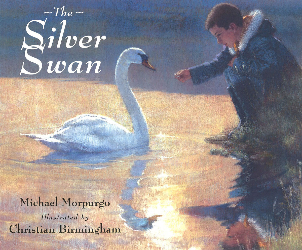 The Silver Swan by swan by004ewiwe13