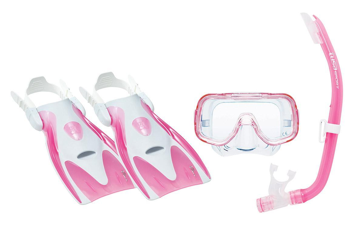 Комплект для плавания детский Tusa Sport  (маска+трубка+ласты)