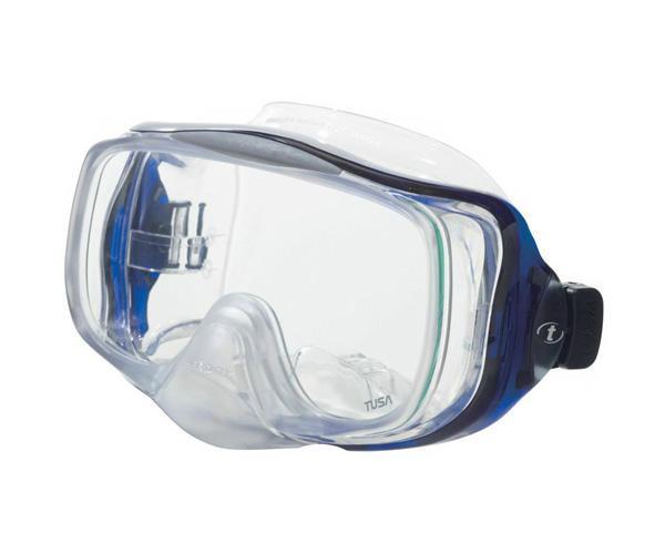 Маска для плавания Tusa Imprex 3D Hyperdry, цвет: синий