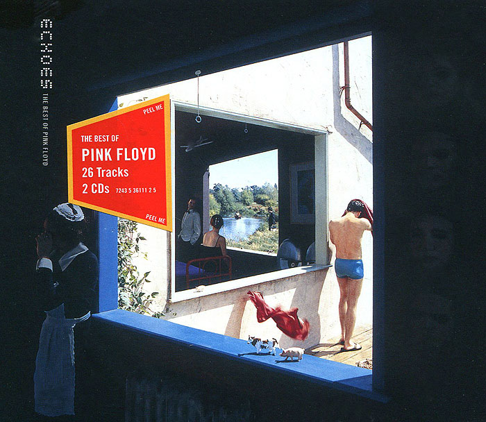 Pink Floyd Pink Floyd. Echoes. The Best of Pink Floyd (2 CD) pink floyd wish you were here