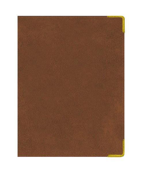 Ежедневник А5 Полудатированный Ancient (светло-коричневый) 192л. (BUSINESS PRESTIGE) Искусственная кожа с поролономЕКП51419203В линейке бизнес-ежедневников представлены датированные, полудатированные и недатированные внутренние блоки на офсетной бумаге плотностью 70гр.м. Коллекция прекрасно подходит в качестве подарка. Обложка обладаетвозможностью термотиснения. Внутренний блок прошит, что гарантирует отсутствие потери листов при активном использовании. Цветные форзацы подчеркивают высокий статус ежедневника. Металлические скругленные углы защищают эту серию продукции при активном использовании. Особый шарм и статус ежедневникам придает разнообразие отделок поверхностей. Исследование с фокус-группами показало, что качество текстур неотличимо от оригинальных поверхностей. Доступный статус - кредо коллекции Business Prestige! Виды отделки: Ancient (гладкая и мягкая кожа), Iguana, Skin, Gold, Nappa, Croco, Grand croco, Impact. Разметка: . Бумага: . Формат: А5. Пол: Унисекс. Особенности: металлические уголки, цветной торец (золото), бумага тонированная, ляссе 2шт..