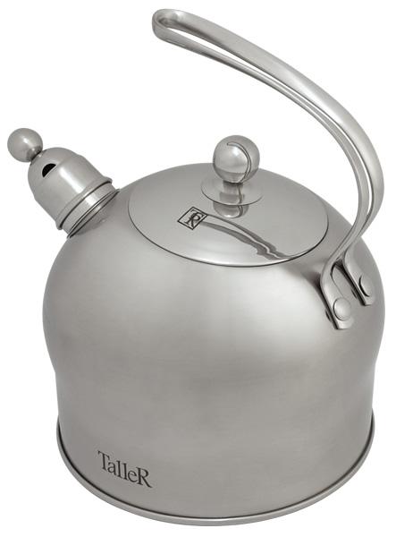 Чайник Taller Oswald со свистком, 2,5 л. TR-1340 чайник заварочный taller tr 1348 1 2 л
