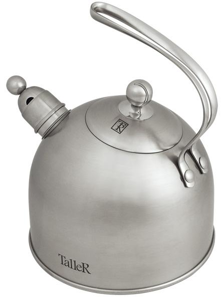 Чайник Taller Bolton со свистком, 2 л. TR-1343 чайник со свистком 2 5 л taller гордон tr 1339