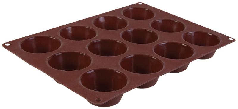 Форма для выпечки12 маффинов TalleR (Таллер)TR-6207Форма для выпечки 12 маффинов33х24х4 см