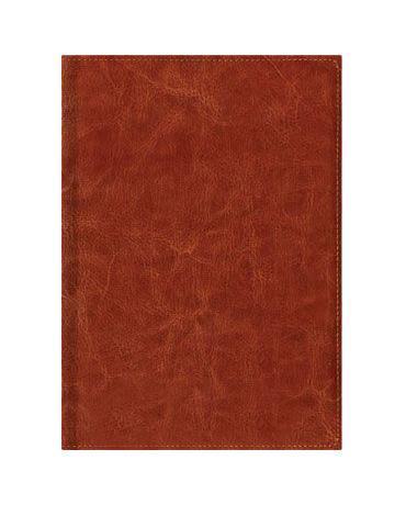 Книга для записей А4 Темно-коричневый 160л. (Classic) Искусственная кожа с поролоном книга для записей с практическими упражнениями для здорового позвоночника