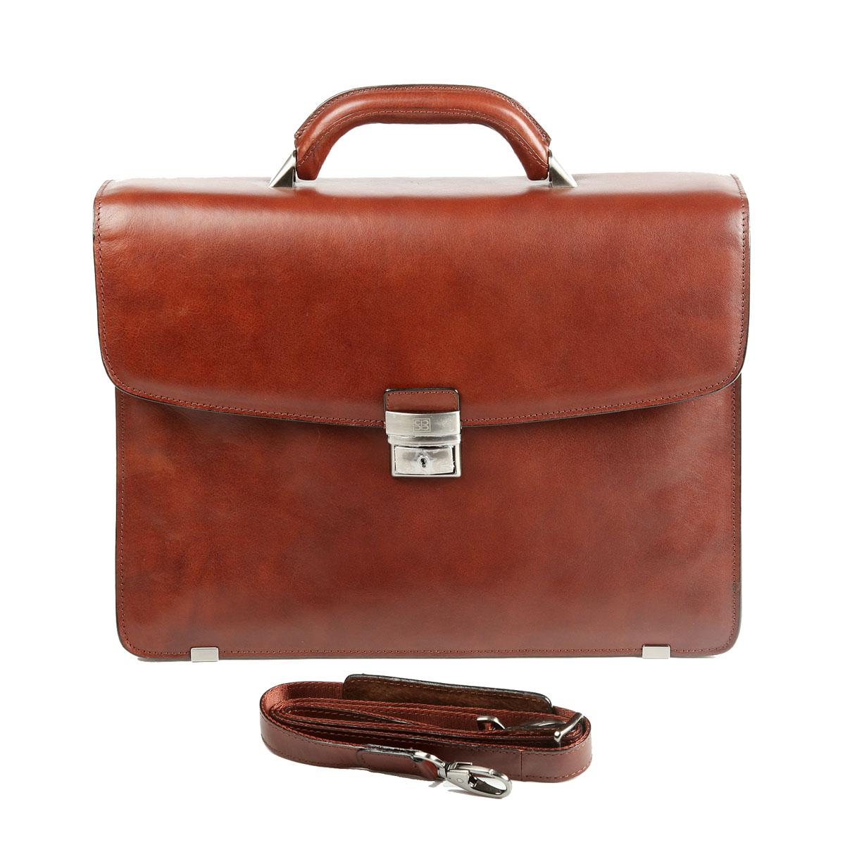 Портфель мужской Sergio Belotti, цвет: коричневый. 8008 портфель мужской sergio belotti цвет коричневый 8740