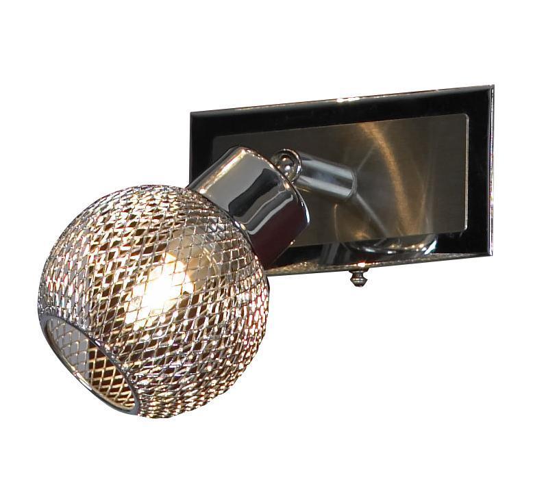 Светильник настенный LSQ-3601-01 TREIALSQ-3601-01Итальянский производитель светильников Lussole LSQ-3601-01 TREIA прекрасно подойдет для освещения таких мест, как например, гостиная или кафе. Стиль исполнения светильника - модерн.