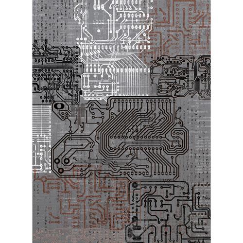 Рисовая бумага для декупажа Craft Premier Микросхемы, 28,2 х 38,4 см микросхемы tda7021 и 174ха34 с доставкой