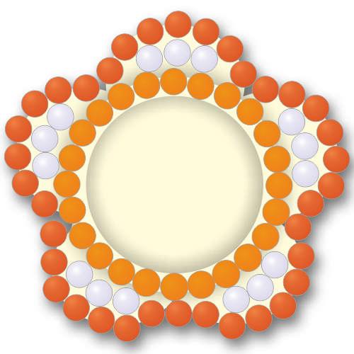 Набор мозаики для декорирования фоторамки Craft Premier