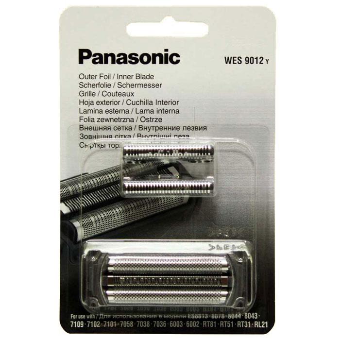 Panasonic WES 9012 Y cетка + режущий блок к бритве panasonic wes9085 сетка для бритв es8043 8044 8078 7058 7038 7036 6003 6002