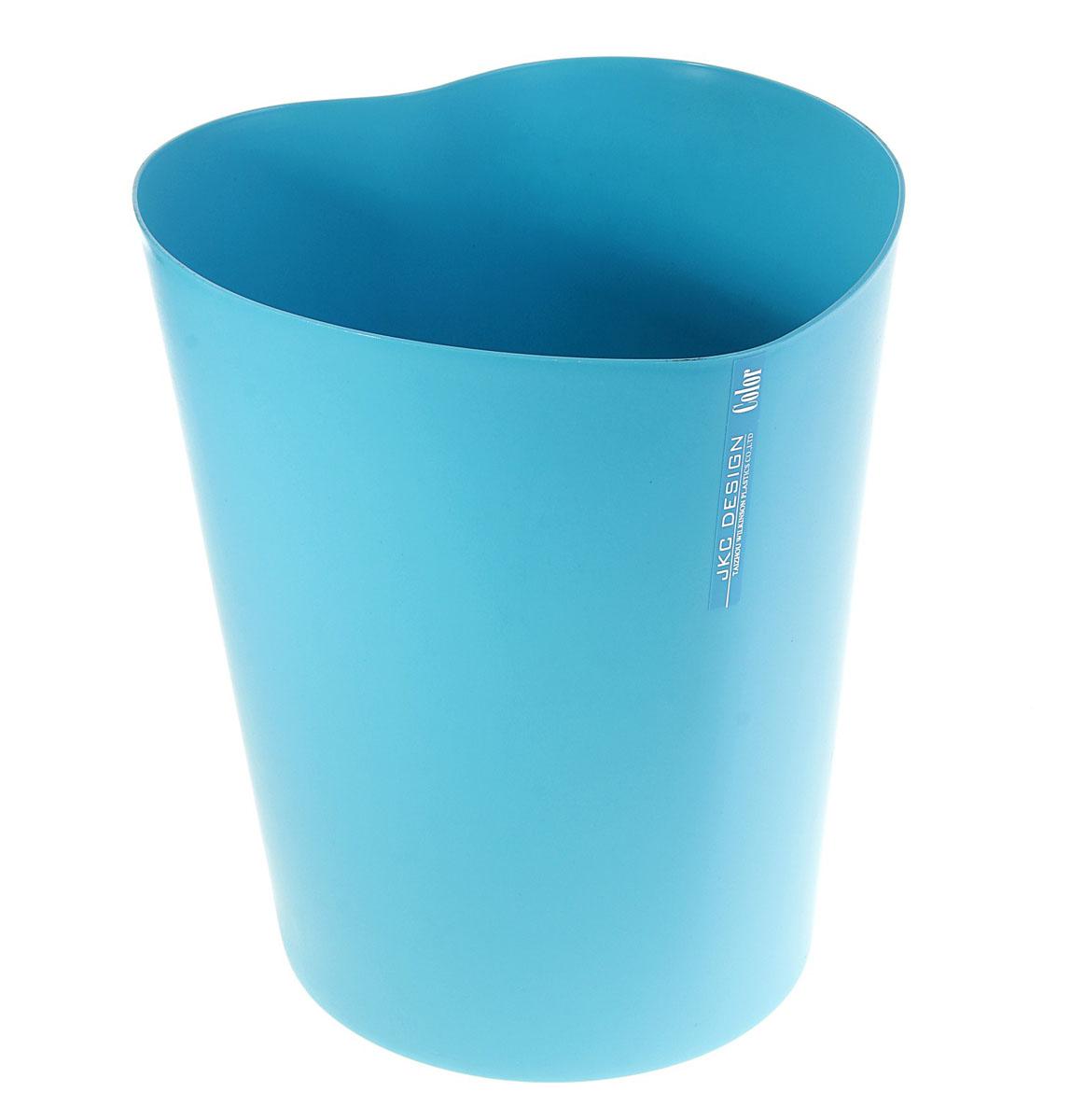 Ведро Sima-land Сердце, цвет: синий, высота 28 см147482Ведро Sima-land Сердце изготовлено из пластика и предназначено для складывания мусора, различных мелких предметов и материалов. Изделие выполнено в форме сердца.Размер ведра: 23 см х 26 см х 28 см.Диаметр дна: 18,5 см.