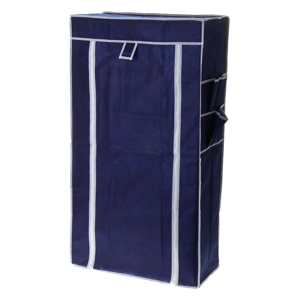 Полка для обуви, 6 ярусов, цвет: синий, 60 см х 30 см х 105 см