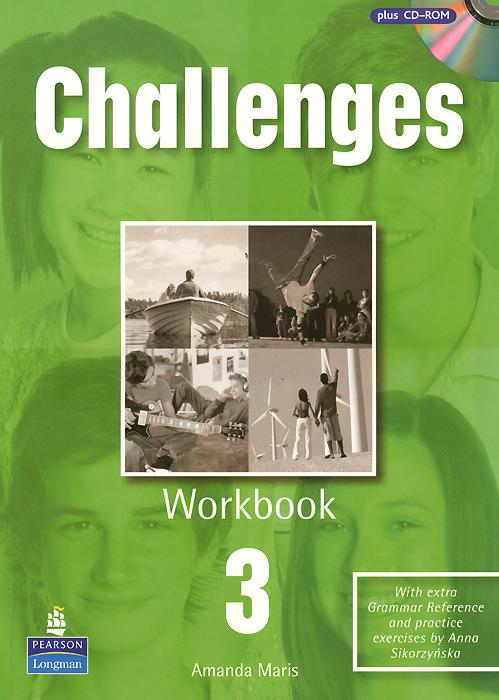 Challenges 3: Workbook (+ CD-ROM) amanda maris new challenges 1 workbook cd