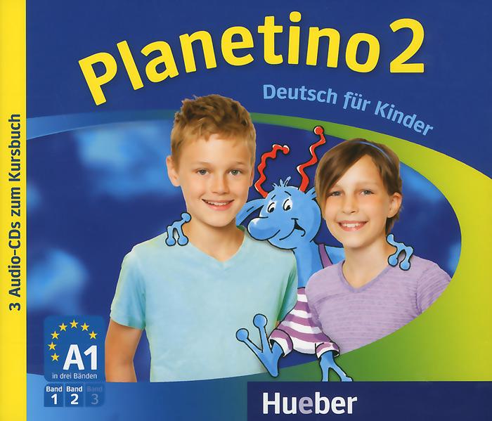 Planetino 2: Deutsch fur Kinder (аудиокурс на 3 CD) menschen a2 testtrainer mit cd