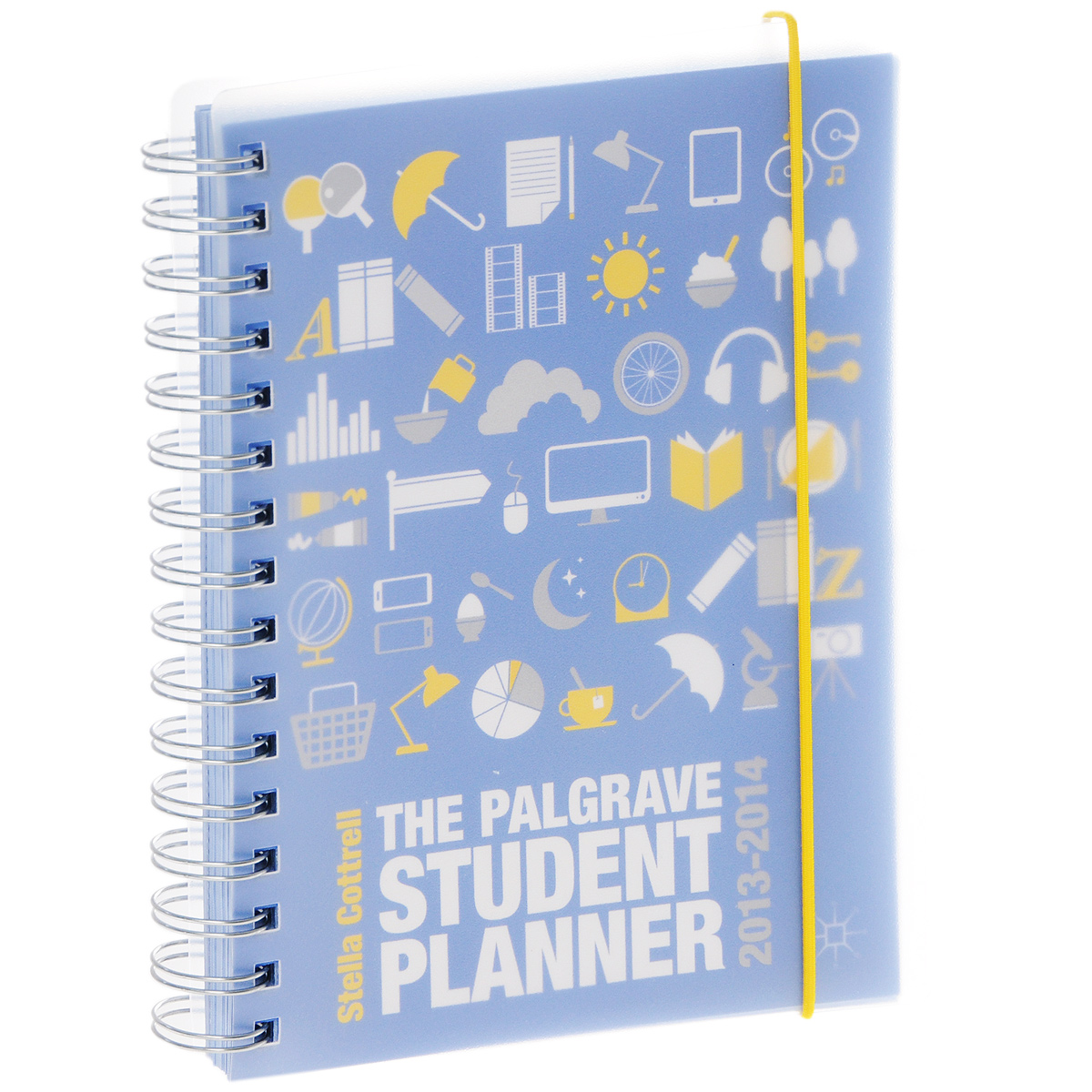The Palgrave Student Planner 2013-2014 fine leather spiral binder travelers notebooks and journals agenda planner office stationery supplies weekly planner gift 2018