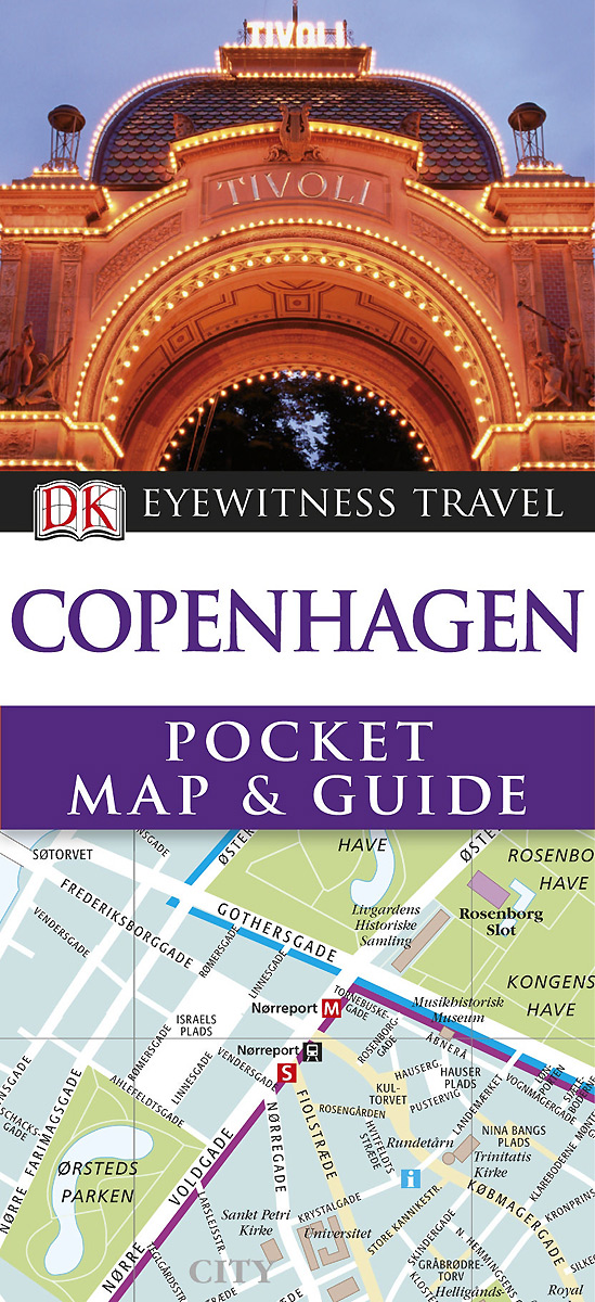Copenhagen: Pocket Map & Guide (+ карта) nomess copenhagen предмет для хранения