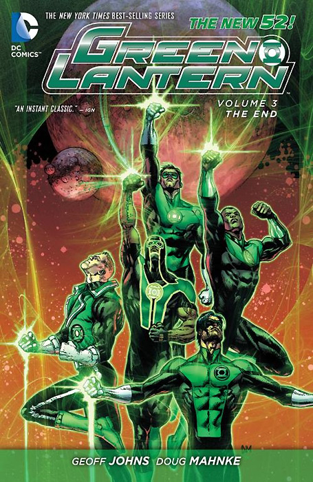 Green Lantern: Volume 3: The End green lantern vol 3 the end the new 52