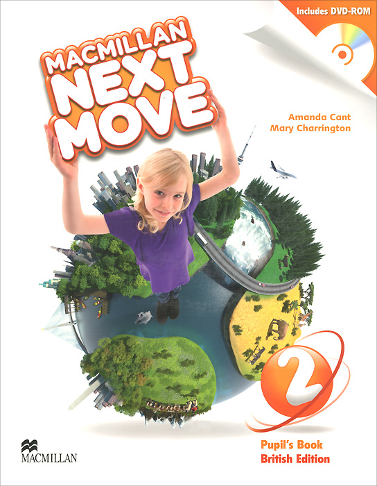 Macmillan Next Move 2: Pupil's Book (+ DVD-ROM) macmillan next move presentation kit level 5 аудиокурс на dvd rom