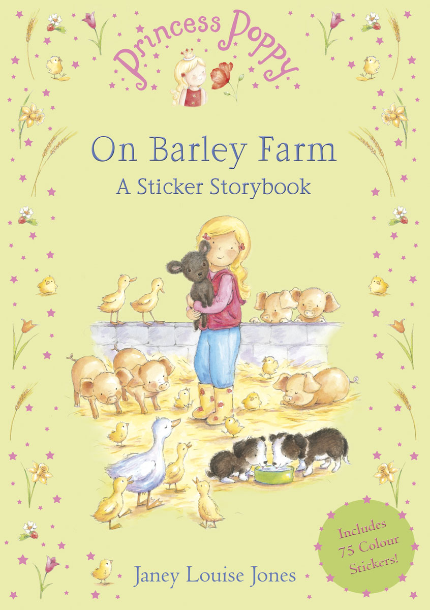 Princess Poppy On Barley Farm: A Sticker Storybook набор бадминтонный nantong regal rj2096