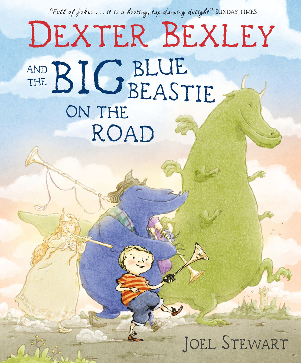 Dexter Bexley and the Big Blue Beastie on the Road on the road