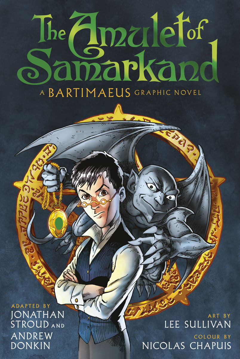 The Amulet of Samarkand Graphic Novel child l jack reacher never go back a novel dell mass marke tie in edition
