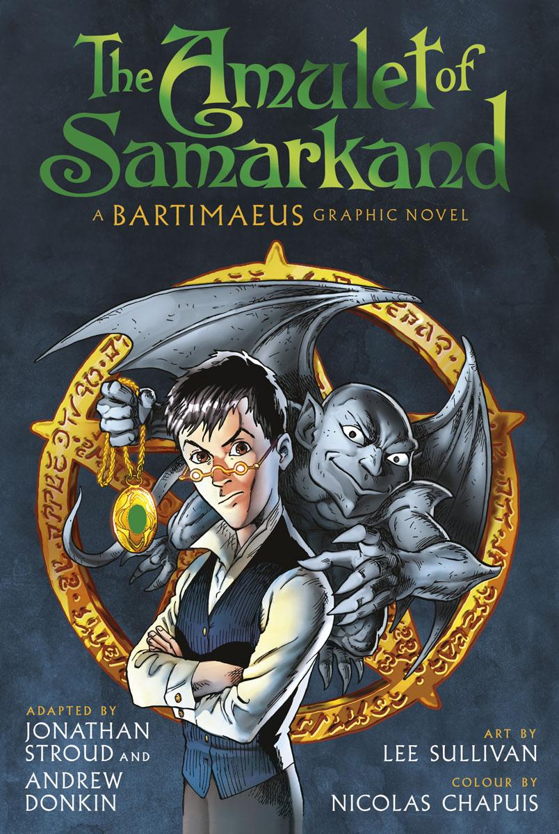 The Amulet of Samarkand Graphic Novel musashi graphic novel