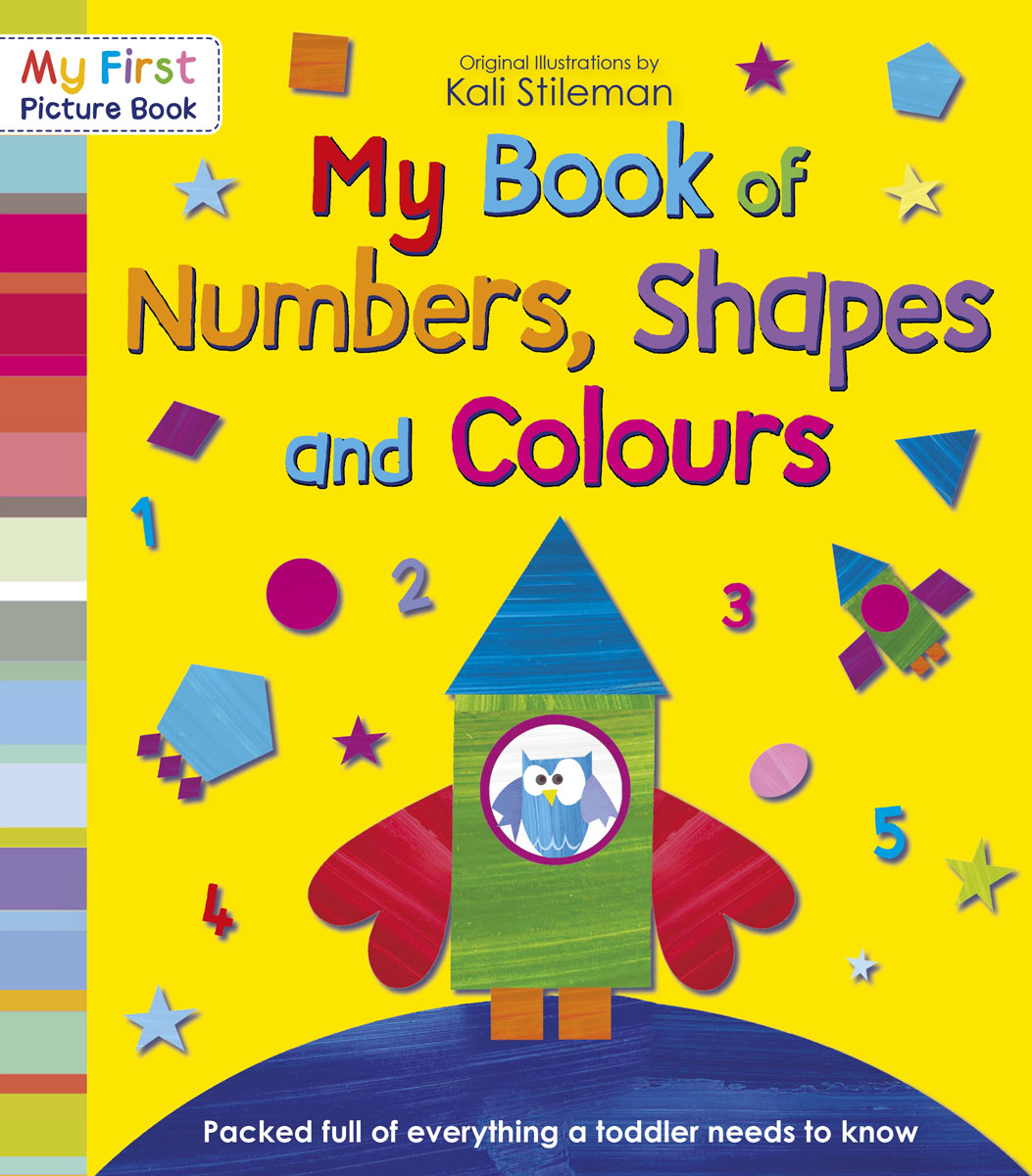 My Book of Numbers, Shapes and Colours first sticker book cities of the world