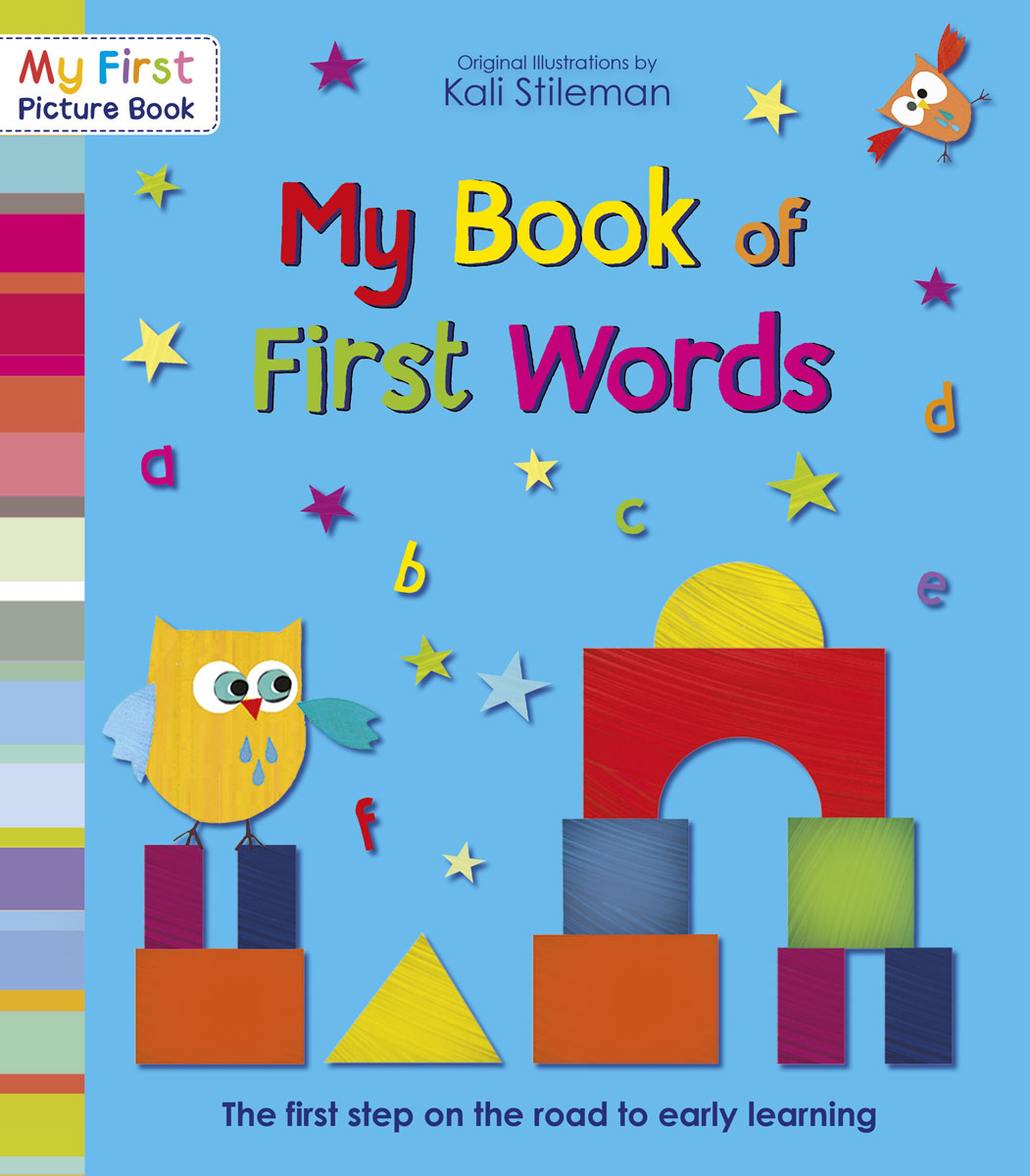 My Book of First Words my very first book of shapes