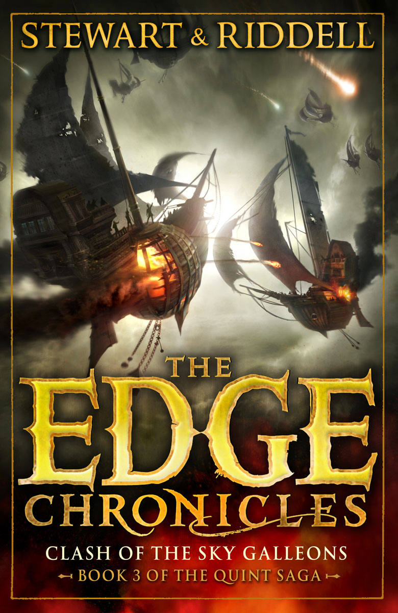 The Edge Chronicles: The Quint Saga 3: Clash of the Sky Galleons red tide the chronicles of the exile 3