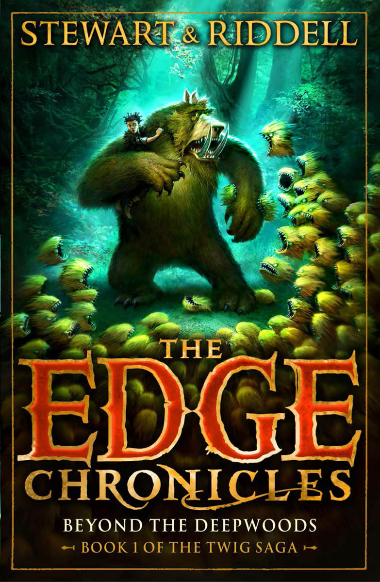 The Edge Chronicles 4: Beyond the Deepwoods: Book 1 of the Twig Saga david vancura the chronicles of l j stevans book 1