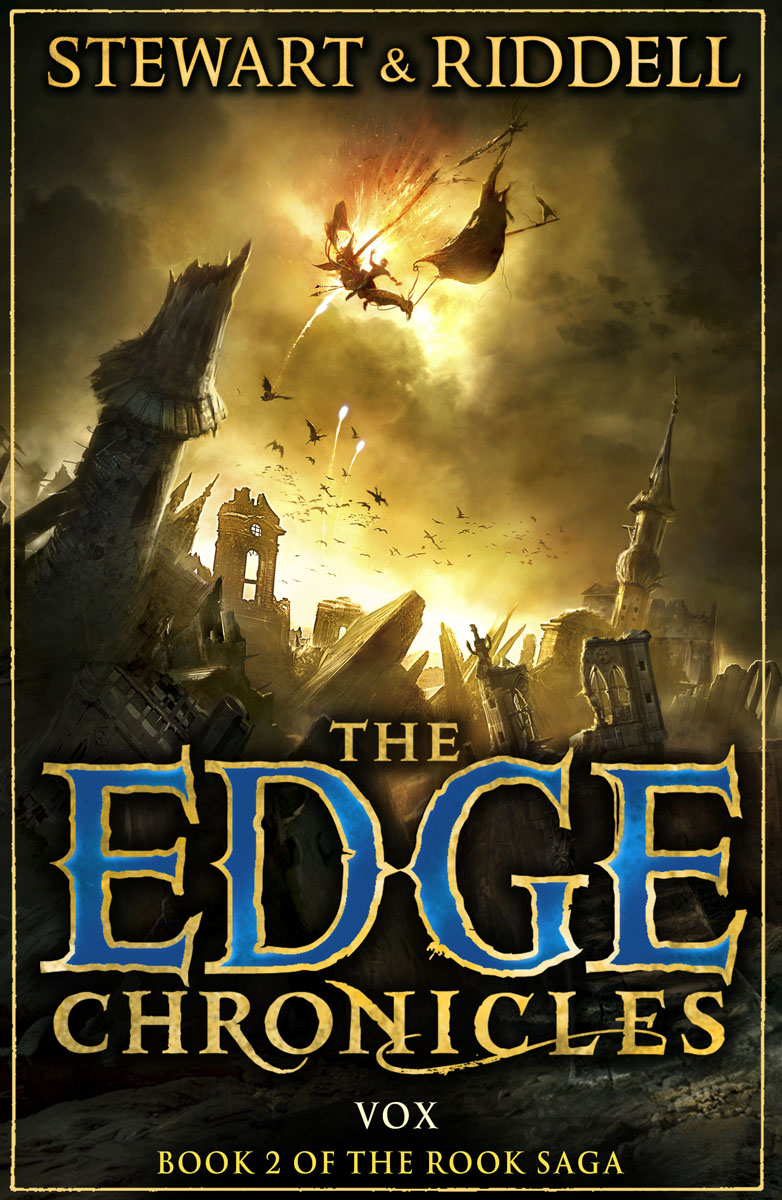 The Edge Chronicles 8: Vox: Book 2 of the Rook Saga the chronicles of l j stevans book 1