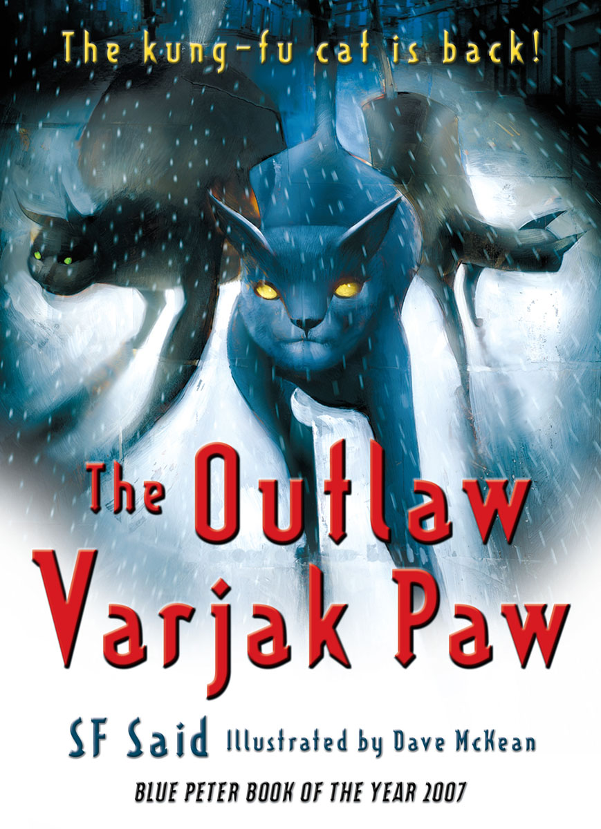 The Outlaw Varjak Paw teddy mars book 3 almost an outlaw