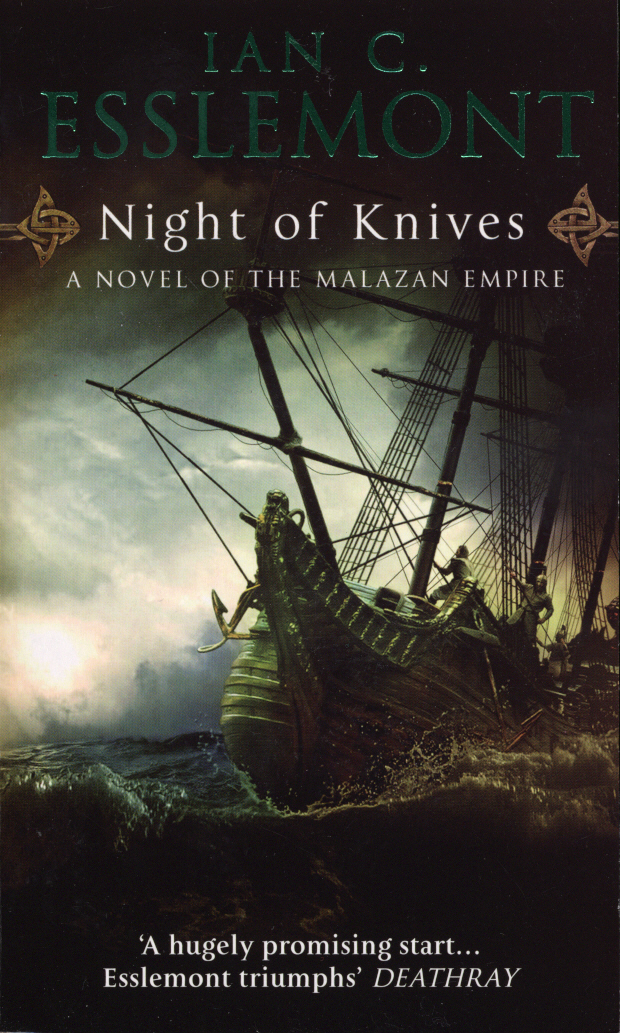 Night of Knives: A Novel of the Malazan Empire free shipping sop32 wide body test seat ots 32 1 27 16 soic32 burn block programming block adapter