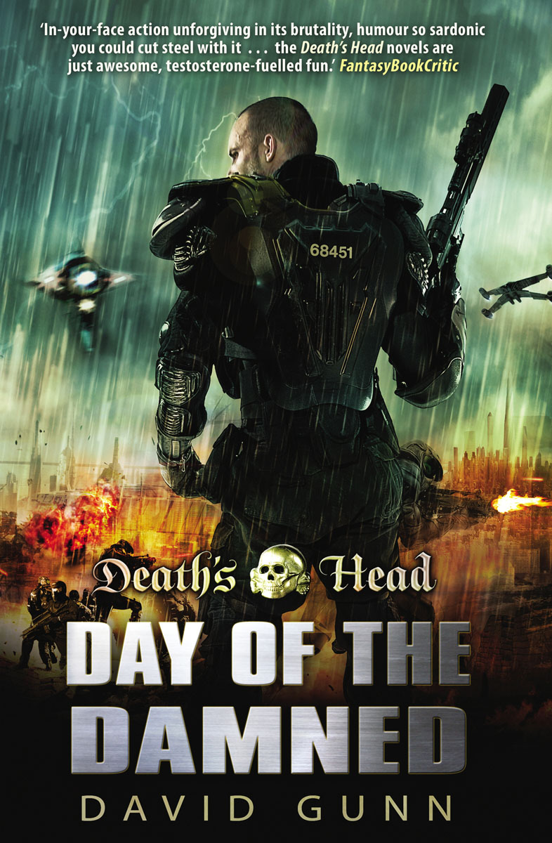Death's Head: Day Of The Damned the damned the damned machine gun etiquette