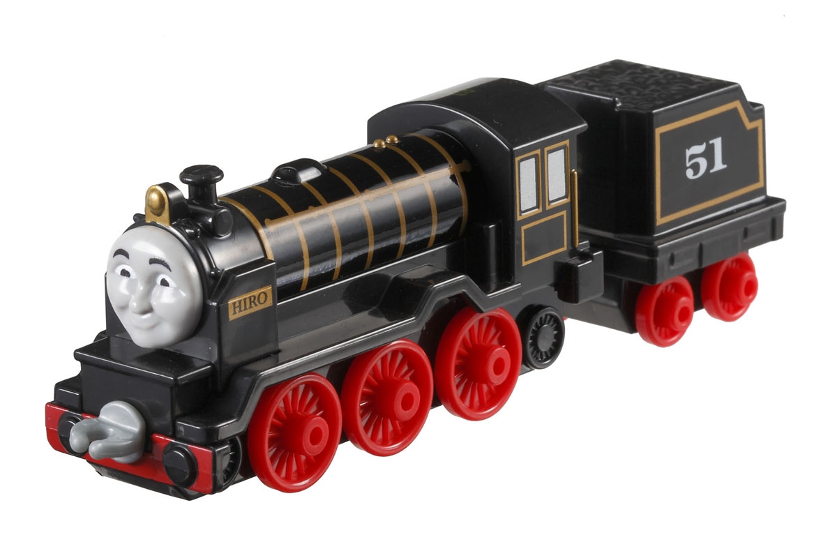 Thomas & Friends Базовый паровозик с прицепом Хиро цвет черный