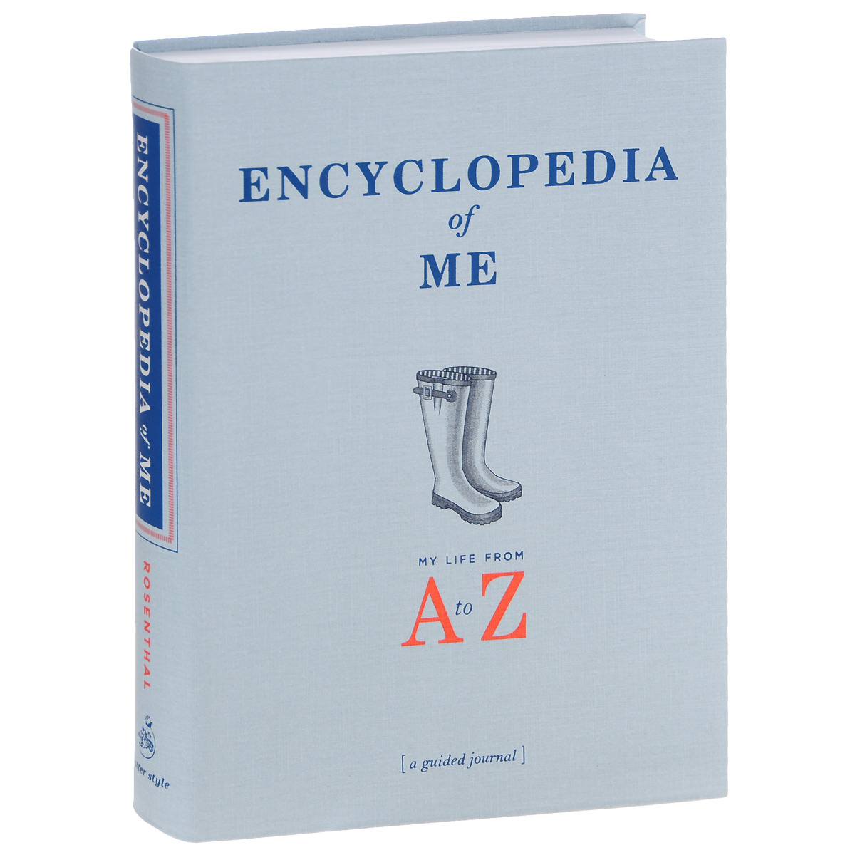 Encyclopedia of Me: My Life from A to Z: A Guided Journal my secret place a gorjuss guided journal hb