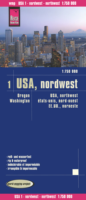 USA: Nordwest. Карта indien nordwest 1 1 300 000