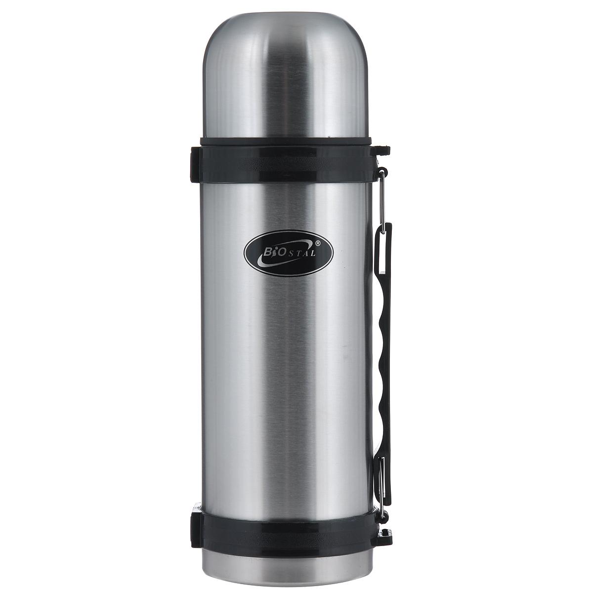 Термос BIOSTAL, 1,5 л. NY-1500-2NY-1500-2Термос с узким горлом BIOSTAL, изготовленный из высококачественной нержавеющей стали, относится к классической серии. Термосы этой серии, являющейся лидером продаж, просты в использовании, экономичны и многофункциональны. Термос предназначен для хранения горячих и холодных напитков (чая, кофе) и укомплектован пробкой с кнопкой. Такая пробка удобна в использовании и позволяет, не отвинчивая ее, наливать напитки после простого нажатия. Изделие также оснащено крышкой-чашкой, и удобной пластиковой ручкой. Легкий и прочный термос BIOSTAL сохранит ваши напитки горячими или холодными надолго.