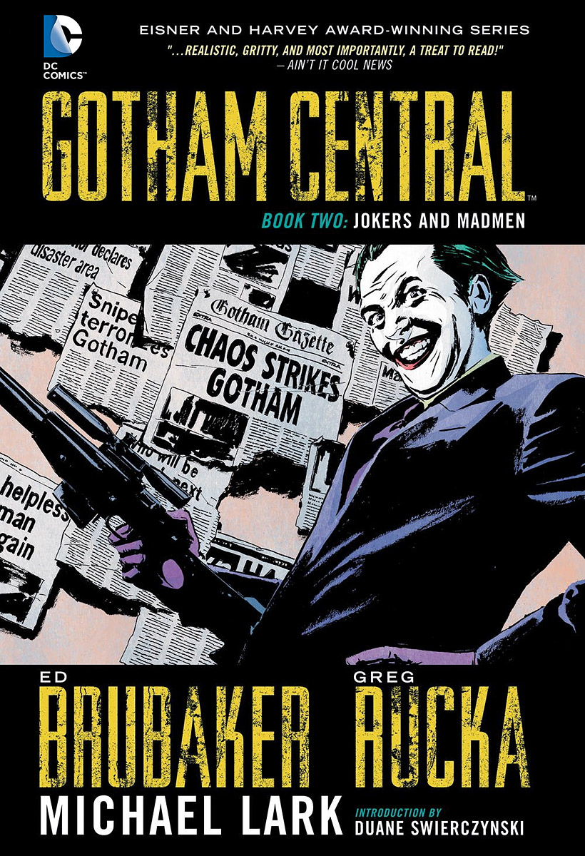Gotham Central: Book 2: Jokers and Madmen rifle ri369ewrry54