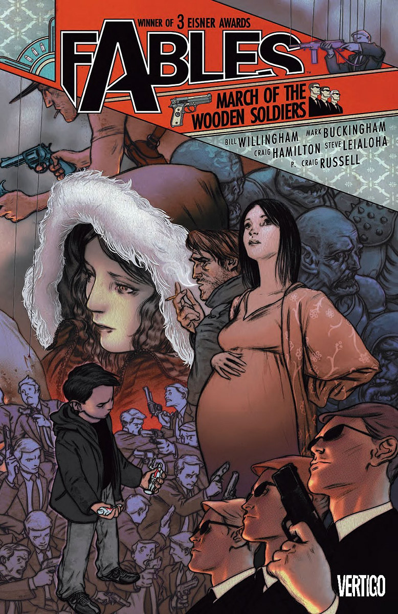 Fables: Volume 04: March of the Wooden Soldiers fables volume 11 war and pieces