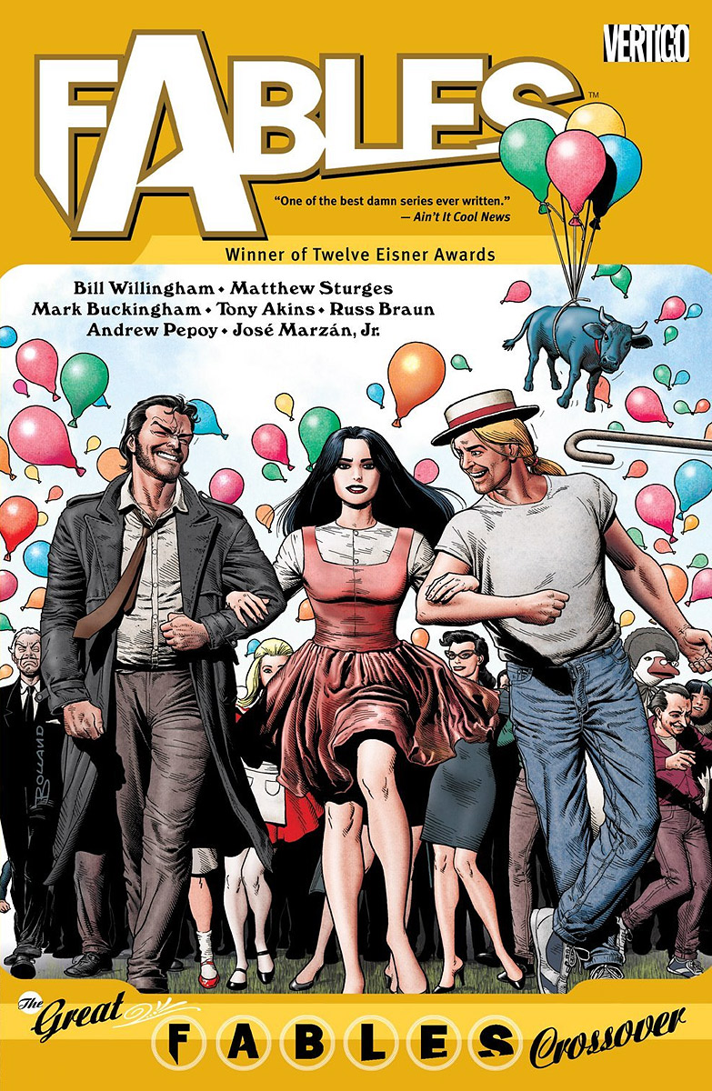 Fables: Volume 13: The Great Fables Crossover fables volume 11 war and pieces