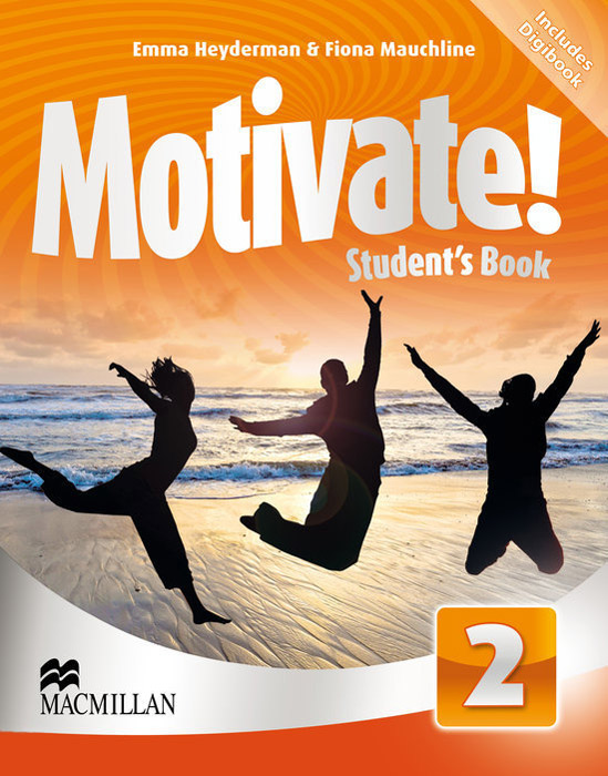 Motivate! Student's Book: Level 2 (+ CD-ROM) leaving microsoft to change the world level 3 cd