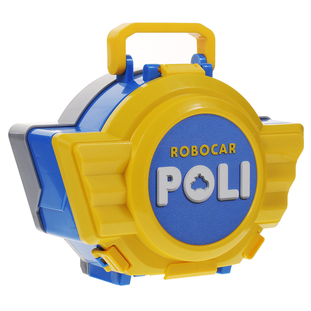 Robocar Poli Игрушка-кейс для трансформера Поли цвет желтый синий игрушка poli кейс для трансформера рой 83077
