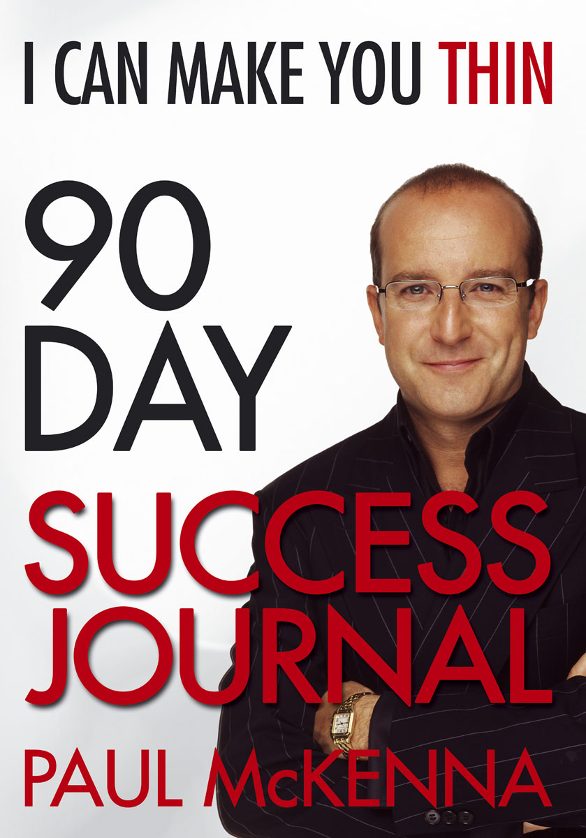 I Can Make You Thin 90-Day Success Journal pat mesiti the $1 million reason to change your mind