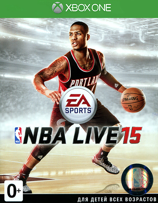 NBA Live 15 (Xbox One) фанатская атрибутика nike curry nba