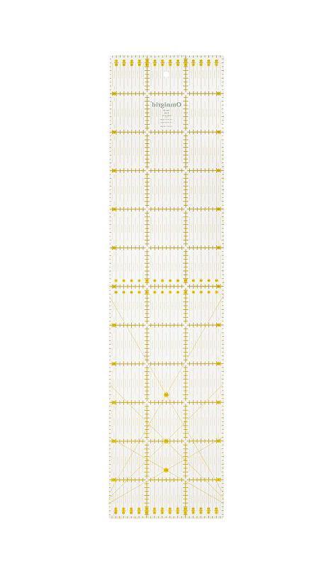 Линейка универсальная Prym Угол для пэчворка, с сантиметровой шкалой, 15 см х 60 см линейка универсальная prym для пэчворка с сантиметровой шкалой 30 см