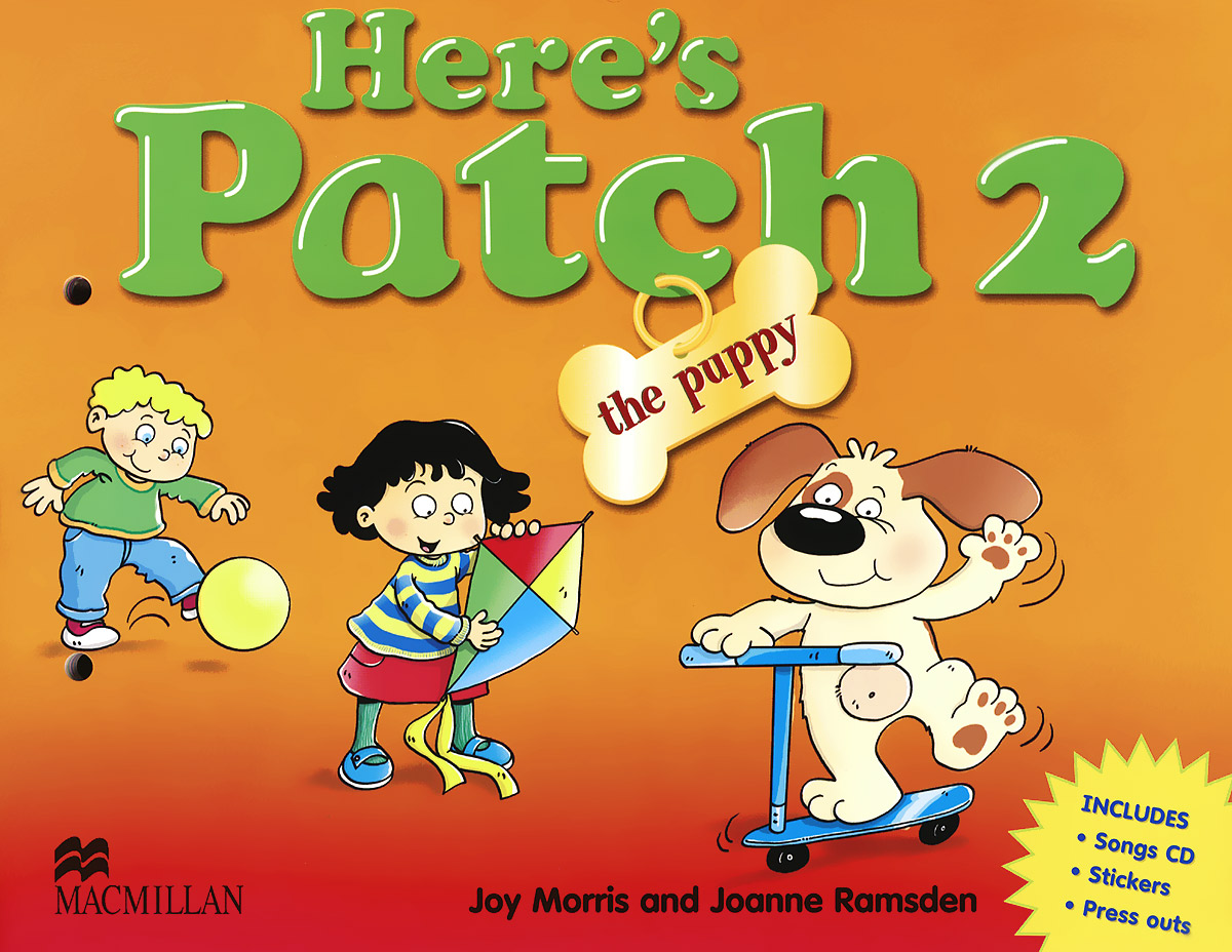 Here's Patch the Puppy 2: Pupil's Book (+ CD)
