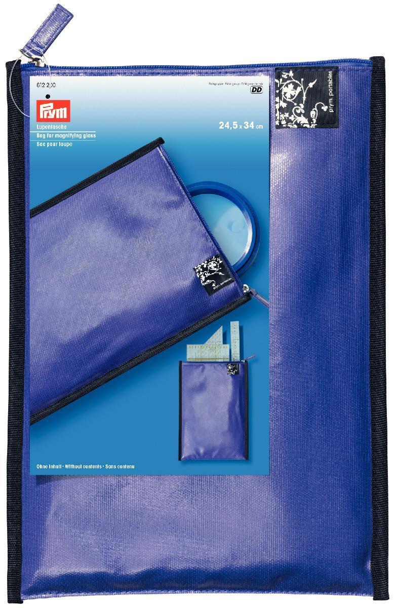 Чехол для хранения аксессуаров для пэчворка Prym, цвет: лиловый, 24,5 х 34 см612200Размер чехла: 24,5 см х 34 см.